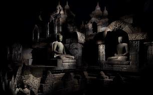 <i>Under the Full Moon</i>: cent dix clairs de lune à Borobudur