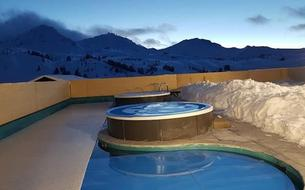 Nouveaux bains et spa à La Plagne