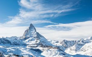 Alpes suisses: Zermatt azurément