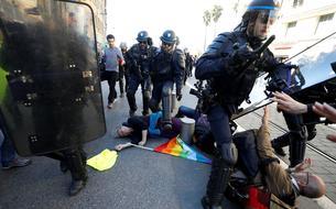 Manifestante blessée à Nice: le procureur met la police hors de cause