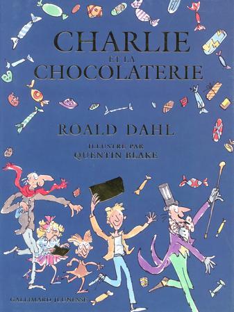 Charlie et la Chocolaterie, publié en 1964 aux États-Unis, est illustré par Quentin Black.