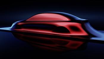 La nervure latérale baptisée «dropping line» chez Mercedes est très marquée.