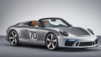 Le Speedster est animé par le flat-six 4 litres de 520 ch.