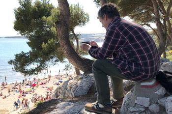 Crédits photos: Apple/ Michel Gondry en tournage avec son téléphone.