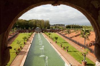 Le palais indien du château de Champ de Bataille.