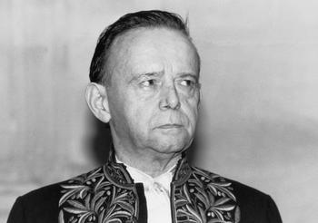 Il est élu à l'Académie française le 26 juin 1986, au fauteuil 15, succédant à Fernand Braudel.