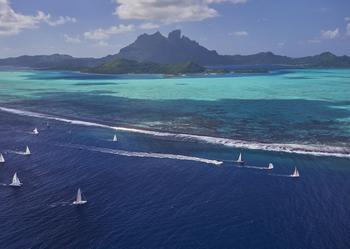 Tahiti Pearl Regatta, la plus fameuse régate du Pacifique insulaire.
