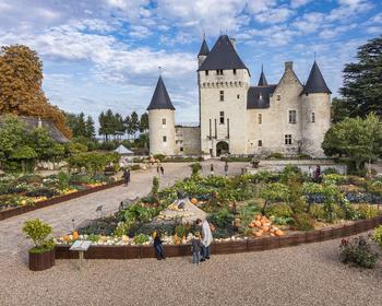 La traditionnelle fête des courges au château du Rivau.