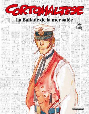 Couverture de l'édition anniversaire de l'album «La Ballade de la mer salée»/ Casterman
