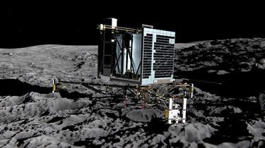 Le robot Philae révèle des «briques de vie» sur la comète Tchouri