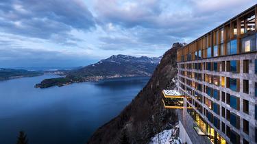 En Suisse, dans l'hôtel de la démesure