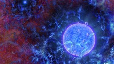 Un signal radio datant de la naissance des premières étoiles de l'univers