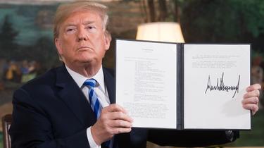 Nucléaire iranien : «La sortie des Etats-Unis est une chance pour la France»