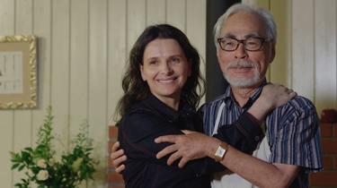 À l'ombre des arbres, Hayao Miyazaki et Juliette Binoche nouent un dialogue inédit