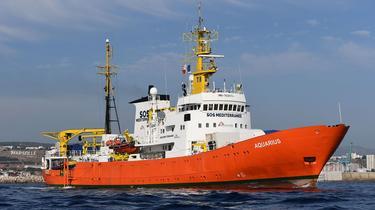 Gibraltar annonce qu'il va retirer son pavillon à l'Aquarius