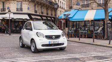 Car2go, l'autopartage revient en force dans Paris