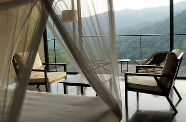 Le Santani Wellness Resort & Spa s'ouvre sur une nature intacte.