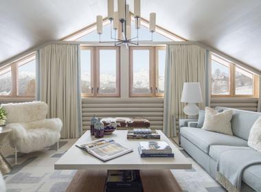 La lumineuse Suite du Mont d'Arbois.