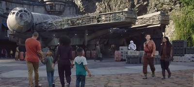 Dans «Smugglers Run», les visiteurs auront l'occasion de prendre les commandes du célèbre vaisseau de Han Solo.