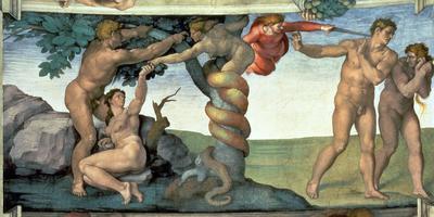 Adam et Ève chassés du Jardin d'Éden