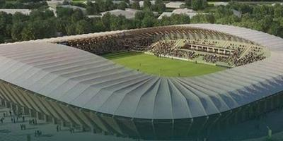 Le futur stade des Forest Green Rovers