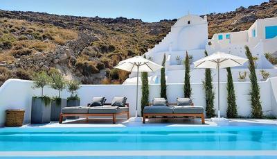 L'hôtel Kensho de Mykonos.