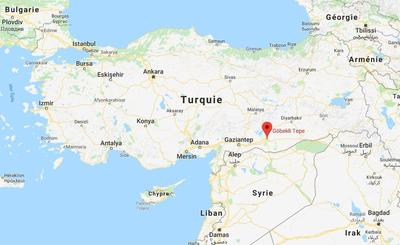 Les vestiges sont situés au sud-est de l'Anatolie, près de la frontière entre l'actuelle Turquie et la Syrie.