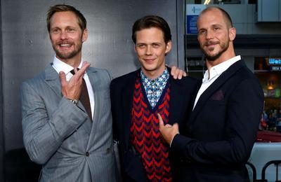 Alexander, Bill et Gustaf Skarsgård.
