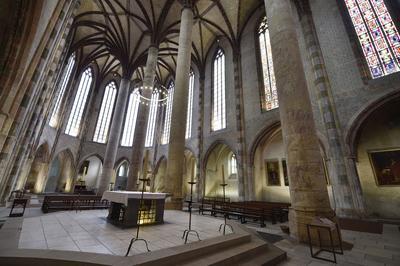 Le couvent des Jacobins où se déroulera l'un des grands rendez-vous du festival.
