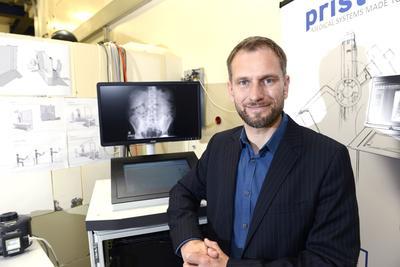 Bertrand Klaiber, le dirigeant de la strat-up Pristem.