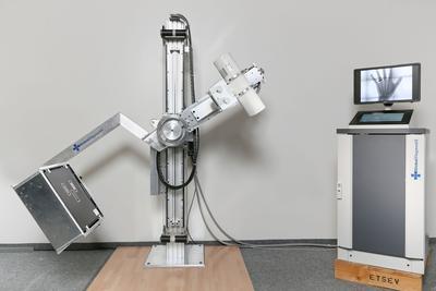Un appareil de radiologie GlobalDiagnostiX.