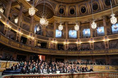 L'opéra donné en hommage à Nahurito.