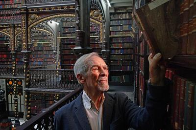 L'architecte Carlos Francisco Moura fréquente la bibliothèque depuis sa plus tendre enfance.