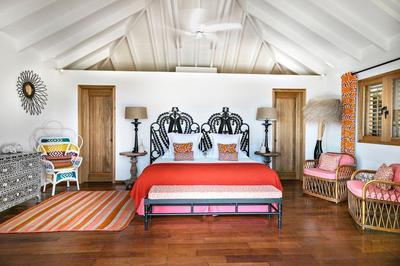 Une des nouvelles suites de la Villa Marie située près de la plage de l'anse.