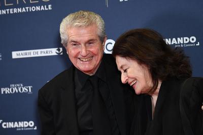 Claude Lelouch et Anouk Aimée, à la 24e cérémonie des Lumières