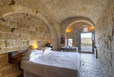 L'hôtel le Sextentio Grotte Della Civita, Matera.