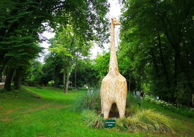 «Victorine la girafe», sculpture de Charlotte Poulsen.