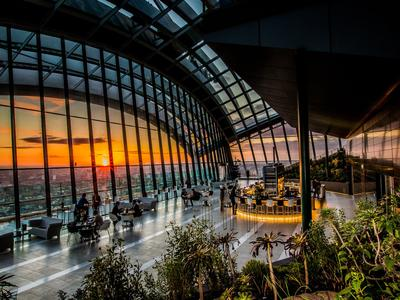 Le Sky Garden domine Londres.