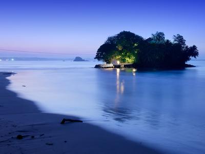 L'île hôtel de Taprobane au Sri Lanka.