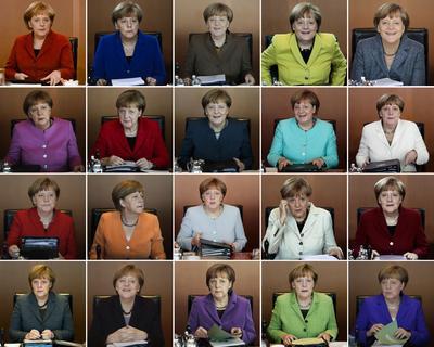 Angela Merkel depuis son accession au pouvoir en 2005.