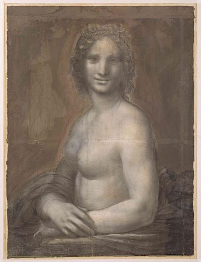 La «Joconde nue» du château de Chantilly, chef-d'œuvre acquis par le duc d'Aumale en 1862 aurait bien «été réalisée dans l'atelier du grand maître, avec sa participation probable», selon les dernières analyses.