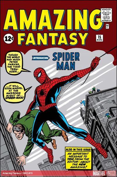 Le 15e et dernier numéro d' <i>Amazing Fantasy</i> est le comics le plus cher de l'histoire. Un exemplaire en bon état a été vendu à un collectionneur pour 1,1 million de dollars en 2015.