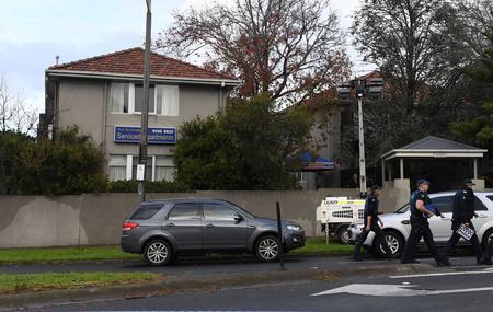 L'attaque a eu lieu dans cet immeuble de Brighton, quartier balnéaire cossu de Melbourne.