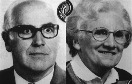 Photos (non datées) d'Aimé et Anne-Marie Romand, les parents de Jean-Claude Romand