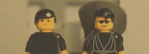 Matrix : une scène culte recréée en Lego