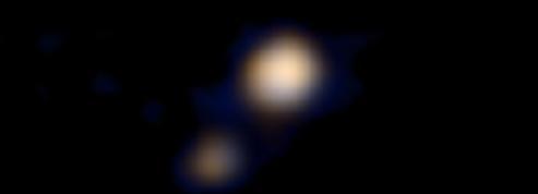 Une sonde de la Nasa a pris la première photographie en couleur de Pluton