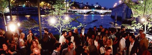 Les Jardins du Pont-Neuf, apéro flottant