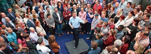 Royaume-Uni : Cameron et Miliband dans un mouchoir de poche