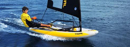 Tiwal : le surprenant voilier biplace qui tient dans un sac