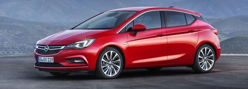 Opel Astra, légèreté et sobriété